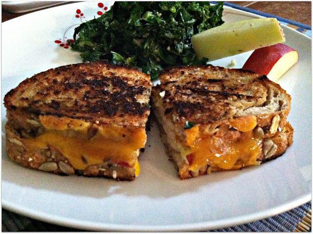 Grilled Turkey, Apple, & Cheddar Sandwich | KJ's Green Kitchen ...