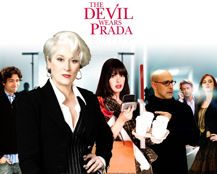The Devil Wears Prada is a 2006 comedy-drama film, a loose screen adaptation of Lauren Weisberger's 2003 novel of the same name. Miranda Priestly, played by Meryl Streep.