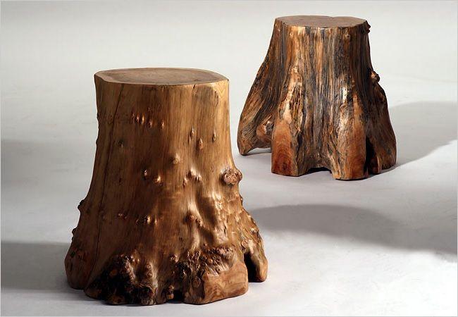 natúr fa rönk, rönkbútor