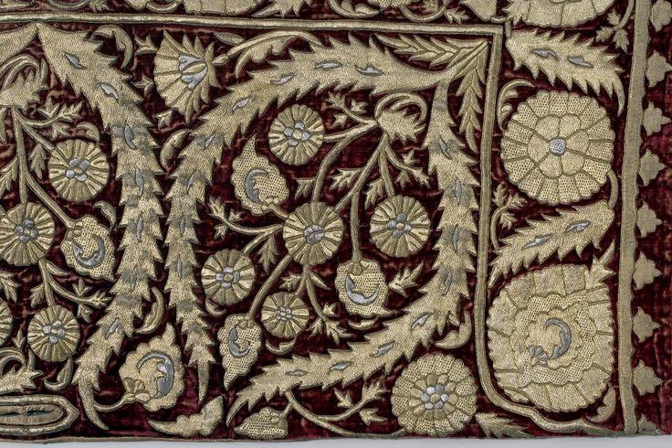 Schabrak, Bethlen Gabor-sadeln, detalj - Livrustkammaren - 50173.tif