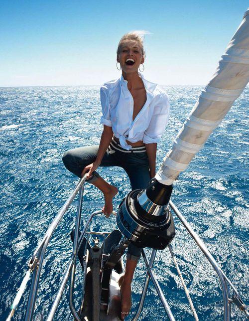 adria-stil:  Edita Vilkeviciute by Gilles Bensimon for Vogue Paris May 2013