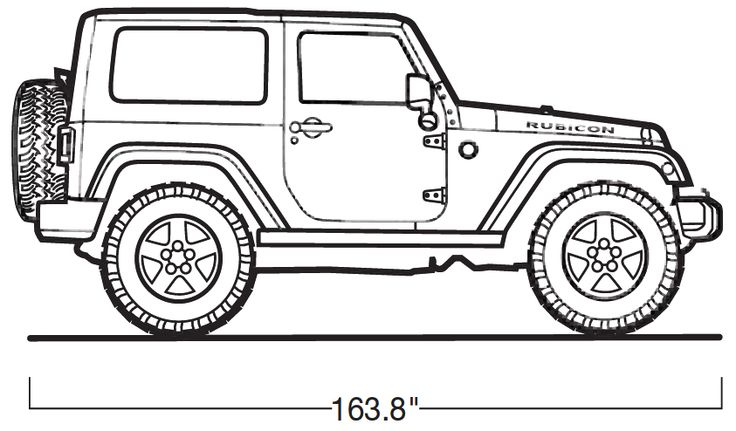 Jeep Free Coloring Pages