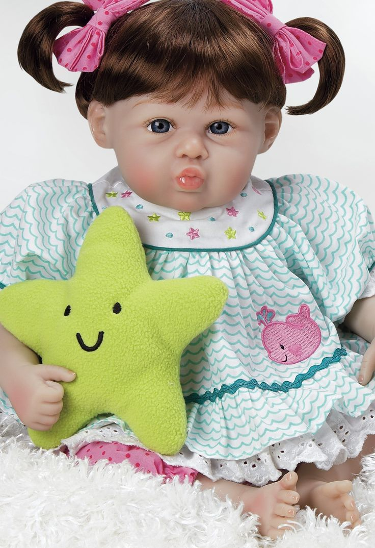 Realistic & Lifelike Baby Doll, Star Kissed, 20 inch GentleTouch Vinyl