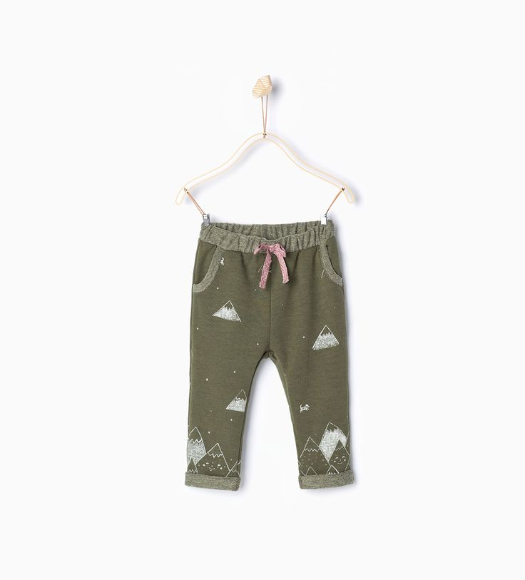 Trees trousers-Skirts and trousers-Baby girl (3 months - 3 years)-KIDS | ZARA United States