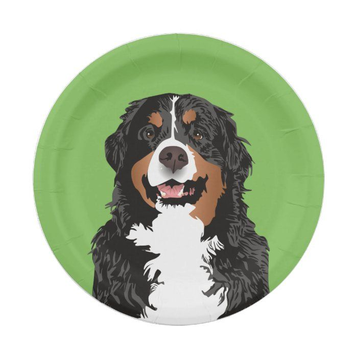 plate Bernese Mountain dog sign