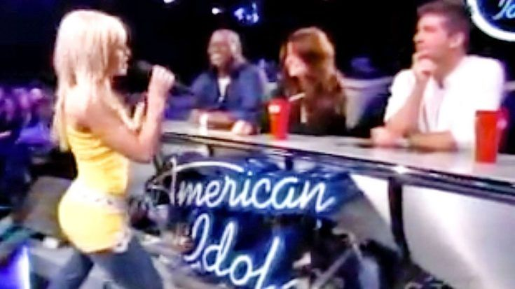 Teenage Kellie Pickler Brings The Sass With 'Walkin' After Midnight' On 'Idol' | Classic Country Music Videos