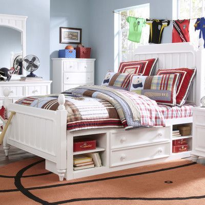 Samuel Lawrence Summer Time Panel Bed with Storage