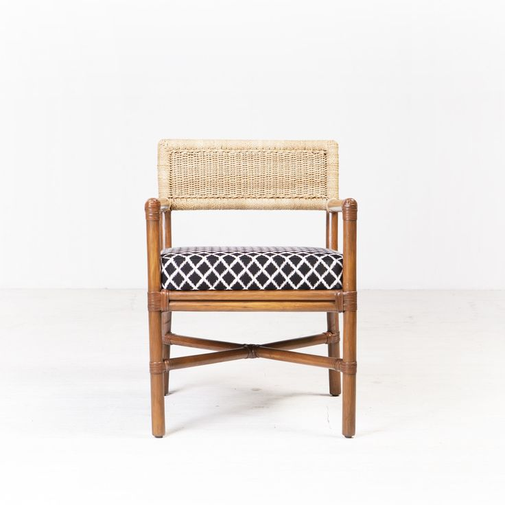 Havana Dining Chair from Ambience Store. The Havana Chair is a woven rattan dining chair or occasional chair that sits as well in a lounge room as it does around a dining table. The seat cushion can be customised and upholstered in any one of our fabrics to suit each individual space.