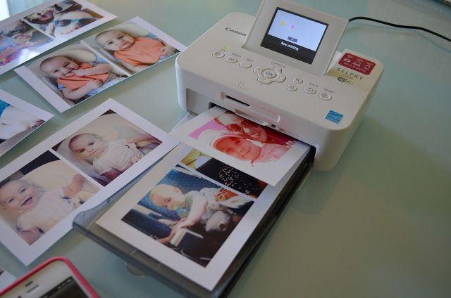 Canon Selphy CP900. Can print pics via Wifi using iPhone/Android and Canon Easy Photo Printer app!  ** My new favorite scrapbooking toy! Works great! I love mine! Use with Pic Stitch app to print a collage of pics and use 6x4 aspect ratio to print.