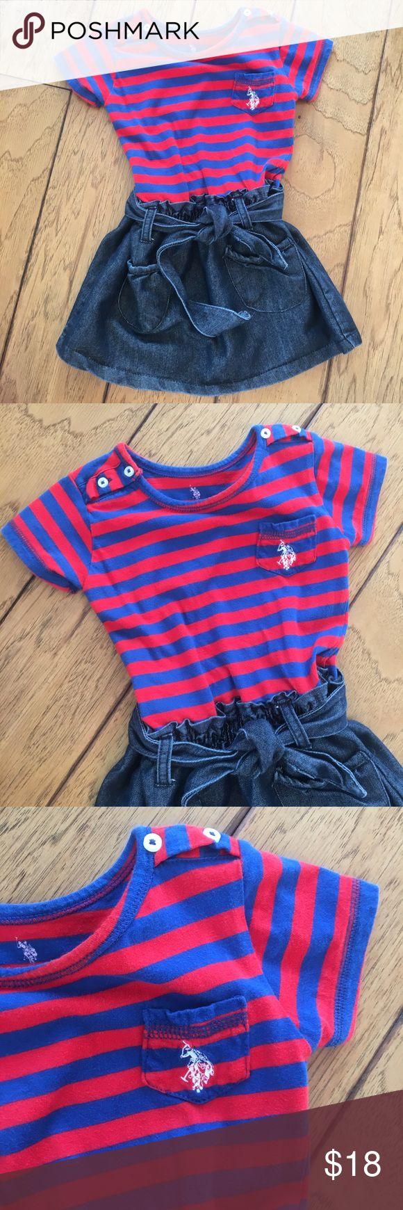 U.S. polo association 3T striped dress U.S. polo association 3T striped dress U.S. Polo Assn. Dresses Casual