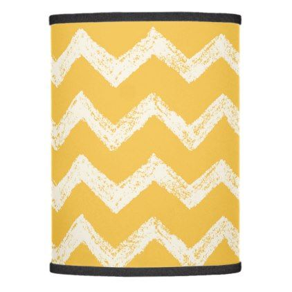 Classic mustard yellow chevron lamp shade - classic gifts gift ideas diy custom unique