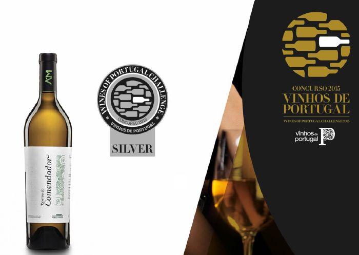 Silbermedaille für Reserva do Comendador 2015 White Wine