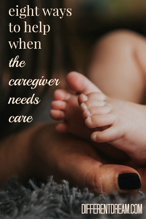 When the caregiver needs care, how can friends and family help? Kimberly Drew offers 8 tangible ways to make a difference in the lives of caregiving families.