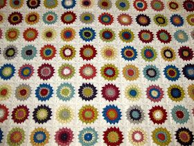 I am finally done with my first crochet afghan! I started this at the beginning of summer and 6 months later it's finally finished. It to...