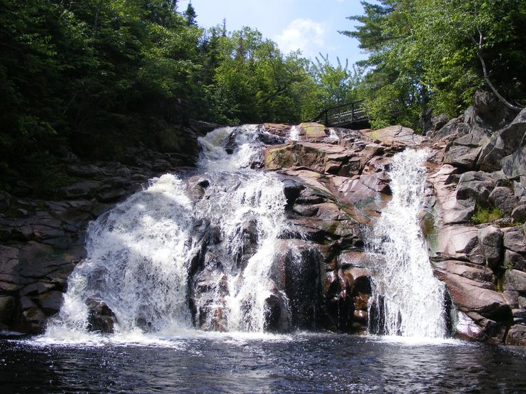 One of my favorite places in the world ... Mary Anne Falls In Ingonish Nova Scotia just beautiful and a great place to swim and have fun :P