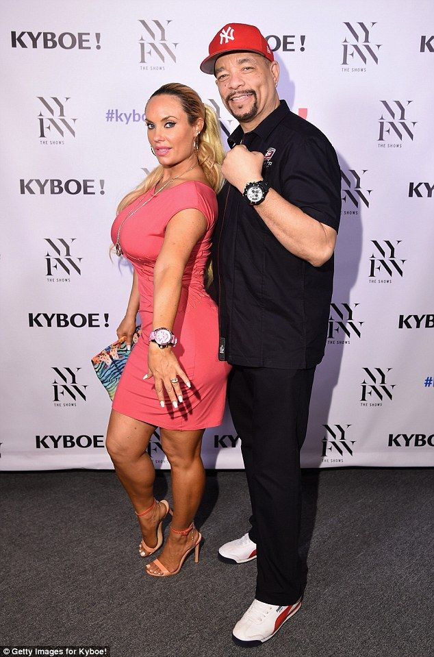Date night! Coco Austin had a bit of fun on the red carpet as she showed off her pert posterior at the KYBOE fashion show on Saturday