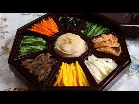 Gujeolpan, Platter of 9 Delicacies (구절판) recipe - Maangchi.com