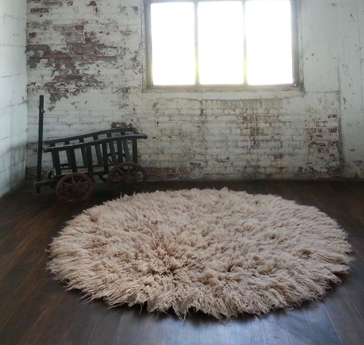 "The thickest flokati rug made. Ultra-thick 6' round tan flokati rug. Plush 4"" shag pile. Must see! by FlokatiShag on Etsy https://www.etsy.com/listing/386303178/the-thickest-flokati-rug-made-ultra"