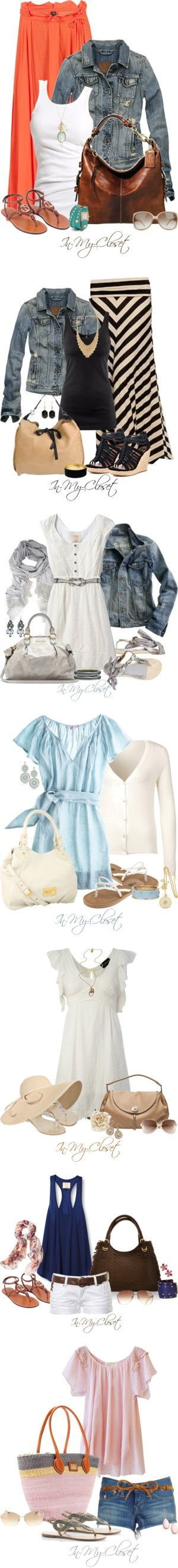 """Hurry Up Summer!"" by in-my-closet on Polyvore - Click image to find more Hair & Beauty Pinterest pins"