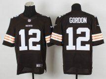 Cleveland Browns #12 Josh Gordon Brown NFL Jersey