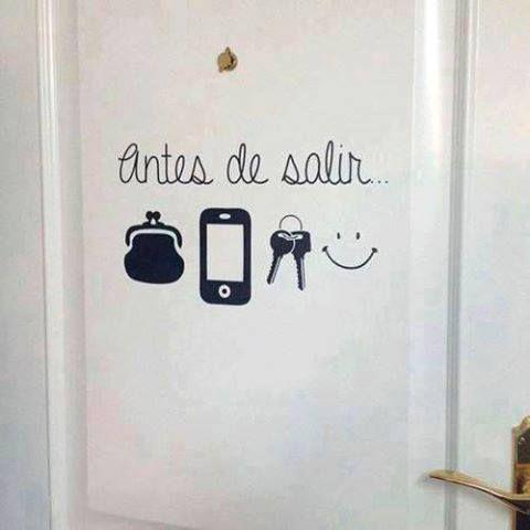 Antes de salir de casa...#Citas #Frases (repineado por @PabloCoraje)