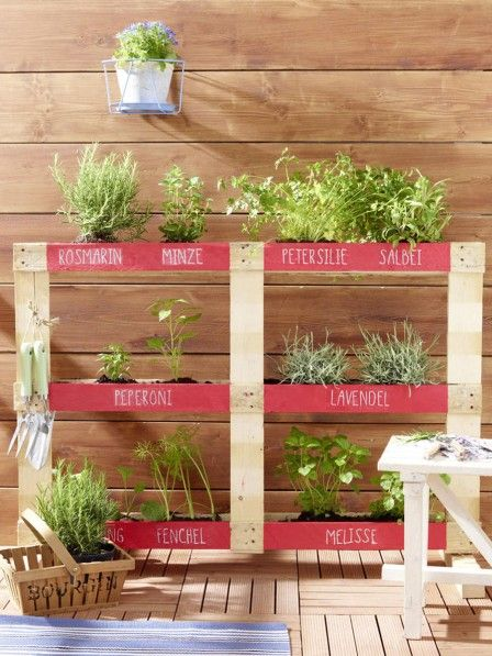 die besten 25 europalette vertikaler garten ideen auf pinterest the herbs pflanze mit j und. Black Bedroom Furniture Sets. Home Design Ideas