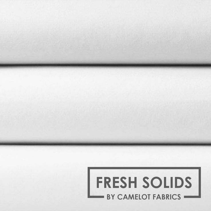 1m-Détails devant White - Fresh Solids - Quilting Cotton - 1/4 Metre