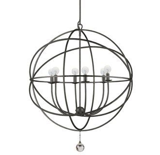 Crystorama Lighting Group Solaris chandelier 9228