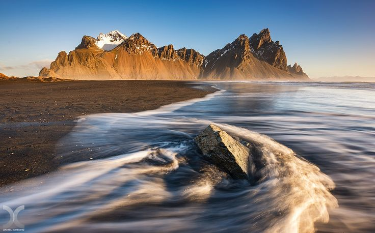 "Stokksnes - The majestic mountain of Vestrahorn in Stokksnes, Iceland.  Follow me on <a href=""http://www.facebook.com/danielcheongphotography"">Facebook</a> 