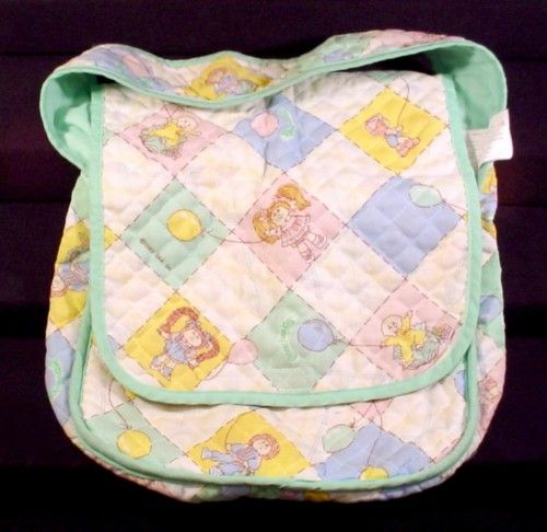 Cabbage Patch Kids Doll Original Vintage Diaper Bag, 1982 Coleco - I had this! :)