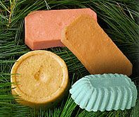 Lots of neat recipes for home made soap here!