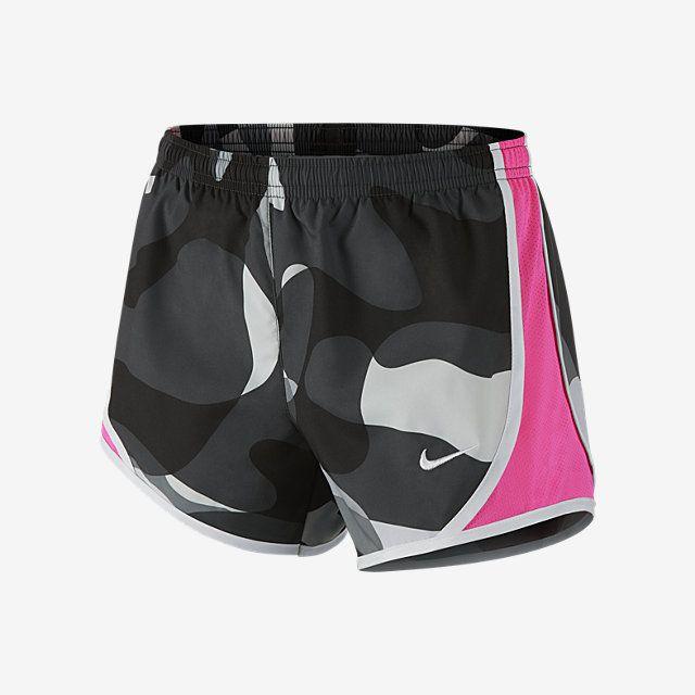 Nike Tempo Allover Print Girls' Running Shorts. Nike Store UK