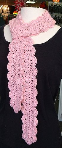 Free Crochet Scarf Pattern. ~ this is gorgeous!