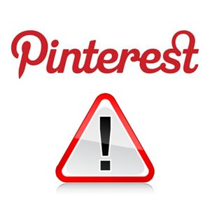 Security & Privacy on Pinterest. 1.Scam Pins   2.Collaborator Hijacking  3.Fake Accounts   4.Android App (there isn't one)   5.Don't Create Personal Boards.    And, as always, watch out for the dodgy weight-loss ads that show up no matter what you're searching for.  Also beware of collaborative boards.