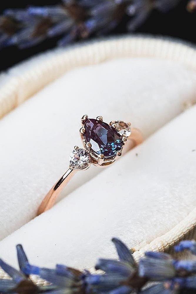 2017/2018 Trend Engagement Ring: 36 rose gold engagement rings, d … Bague de Fi …  – Verlobungsringe