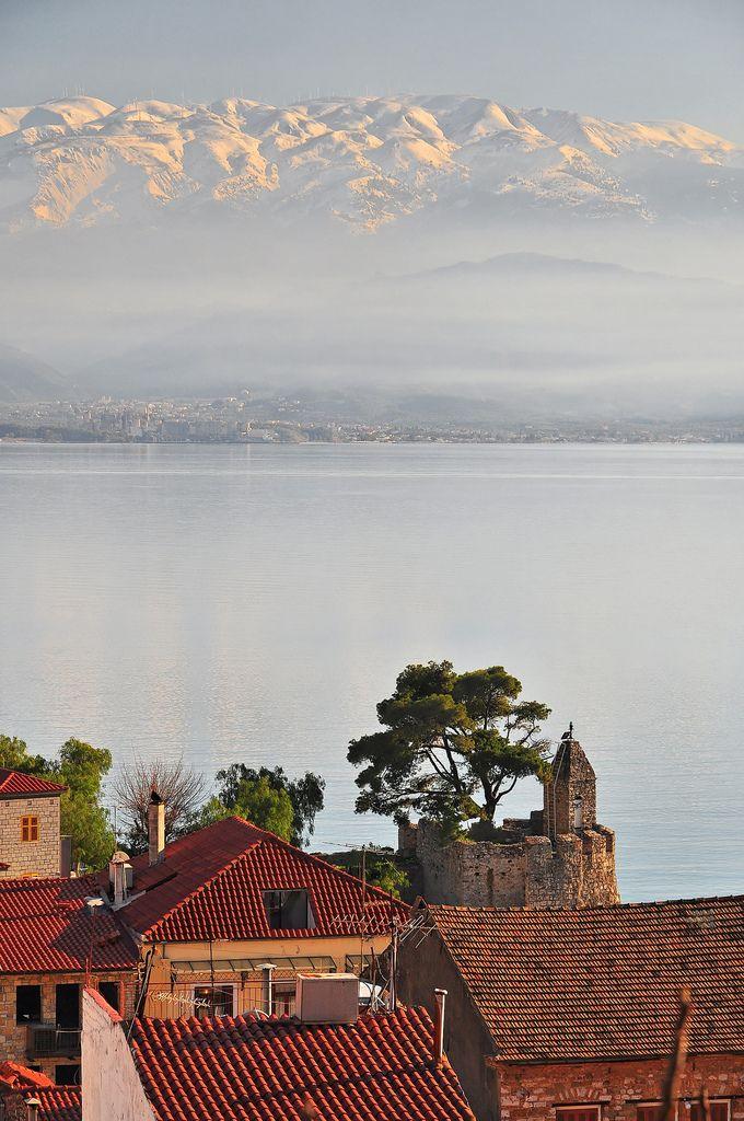 Nafpaktos, Peloponnese Western Greece n de Ionian Island_ Greece