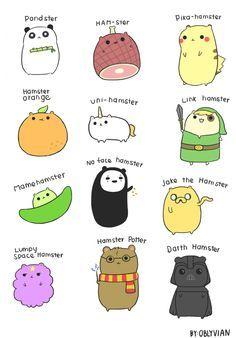 Hamster Doodles