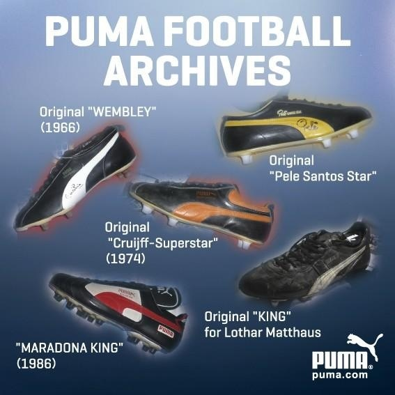 Puma King...classic perhaps the best football boot.