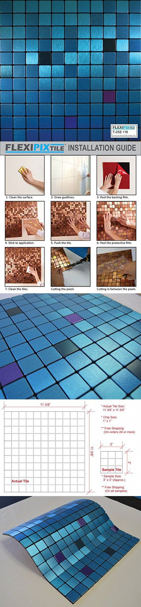 761 best Decorative Tiles images on Pinterest | Room tiles, Subway ...