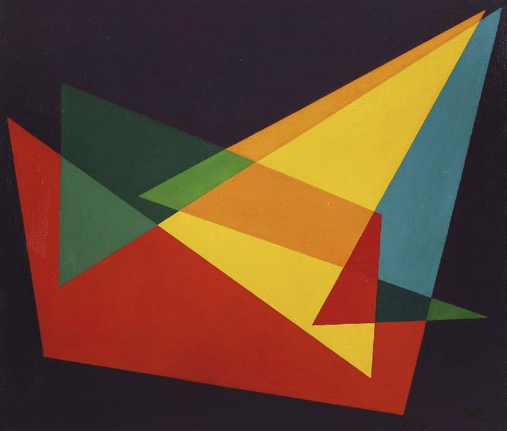 Juan Mele (b 1923) was an Argentinian painter, draughtsman, and art critic. Melé's output in the 1940s drew from concrete painting, as evidenced in his trimmed picture frames and coplanar compositions. He developed these aspects throughout his career, applying them to painting, sculpture, and embossing.