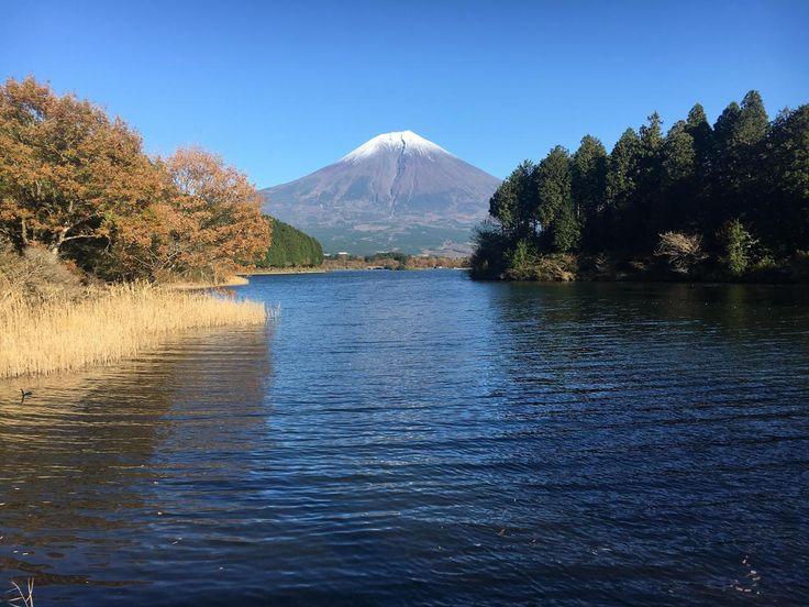 Mount Fuji as seen from Lake Tanuki Japan [OC] [40…