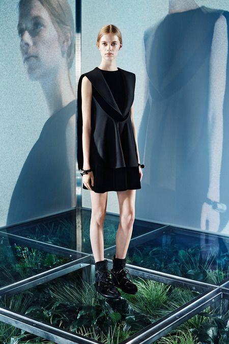 Modern Couture by Balenciaga Pre-Fall 2014.