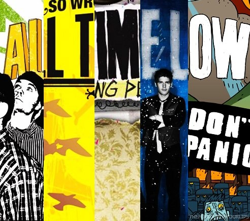 All Time Low album covers