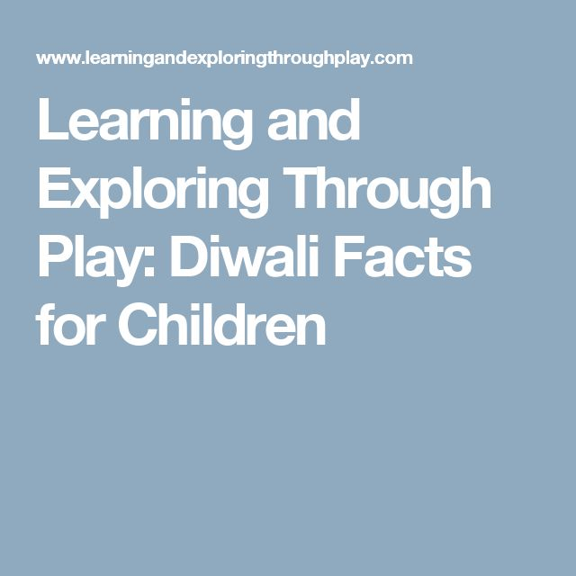 Learning and Exploring Through Play: Diwali Facts for Children