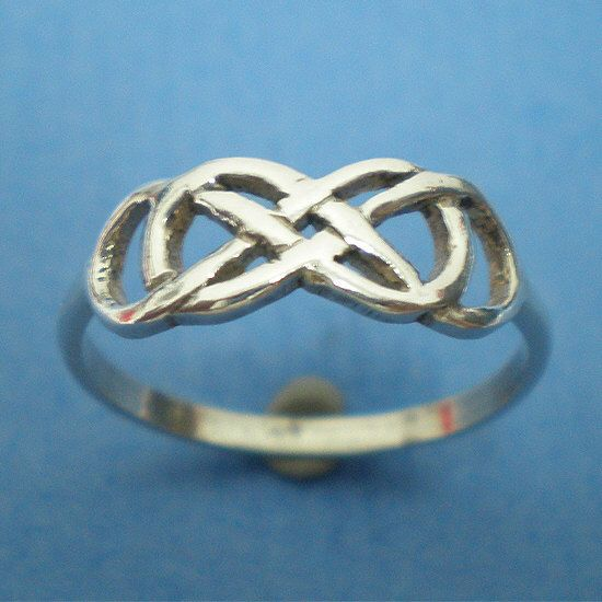 Celtic Knot Double Infinity Ring Silver Friendship Anniversary Birthday Valentine Gift - Revenge - Holidays, infinity times infinity by yhtanaff on Etsy https://www.etsy.com/listing/117226188/celtic-knot-double-infinity-ring-silver