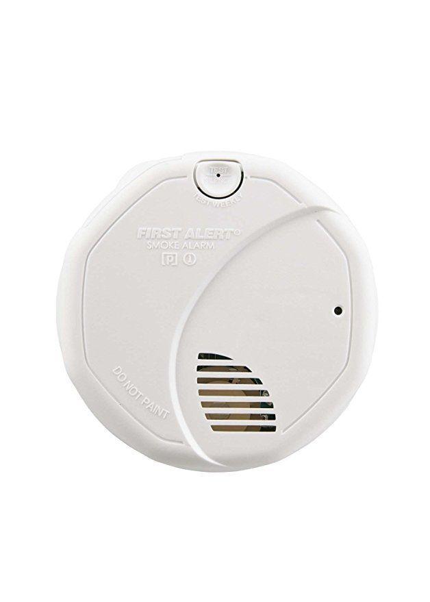 First Alert Sa320cn Dual Sensor Smoke And Fire Alarm Battery