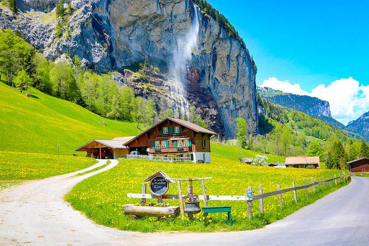 Lauterbrunnen is one of the most beautiful places I've been in my life. What makes it out-of-this-world is the perfect combination of majestic water wonders, the towering steep rock walls and the Alps' magical charm. And I'm not the only one who's been smitten by this Swiss piece