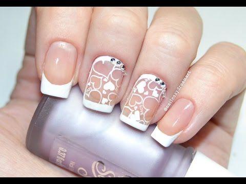 ♥ Valentine's Day Nail Art ♥ | DIY Valentine's Nails | Маникюр на День Святого Валентина - YouTube