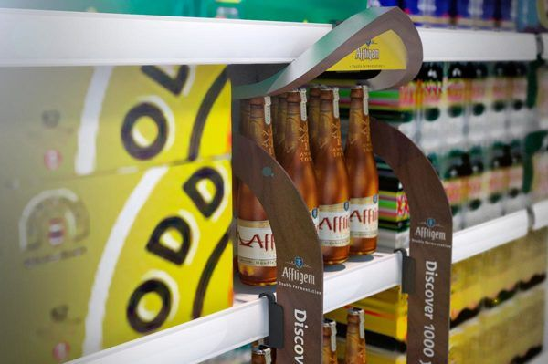 Affligem – Retail off-trade POS material on Behance