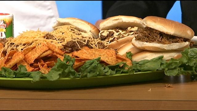 Slow Cooked Injected Pulled Pork With Sandwich Sauce Tony Chachere